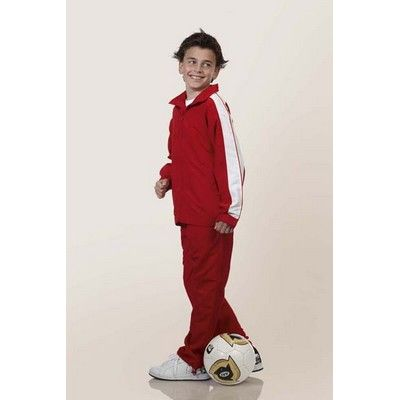 Kiddies Customisable Warm Up Sports Jacket Min 25 - 100% Polyester. Contrast Panel along Shoulders and Sleeves, Lining of Mesh, Zip Collar Down, Elastic Cuffs and Hem, Two Front Side Pockets with Stitched Closure, Satin Backed Microfibre Fabric. http://www.promosxchange.com.au/kiddies-customisable-warm-sports-jacket/p-8729.html