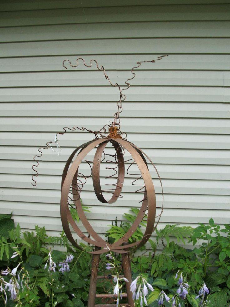 recycled garden art, view 2