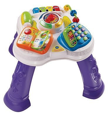 Vtech Play and Learn Activity Table 10169928 140 Advantage card points. The VTech Play and Learn Activity Table introduces numbers, colours, animals, musical notes, daily routines and more to your child! Learning has never been so much fun! FREE http://www.MightGet.com/april-2017-1/vtech-play-and-learn-activity-table-10169928.asp