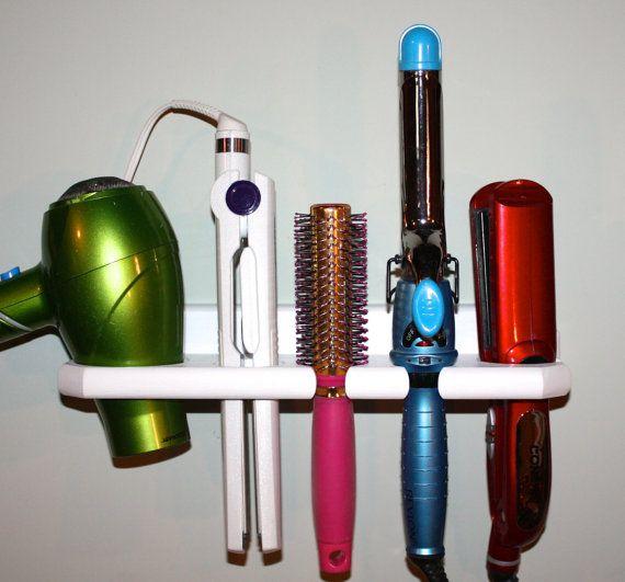 Hair Blow Dryer Curling Flat Iron Brush Specialty Appliance Shelf  Holder Bath Bathroom Organizer Salon USA  DFCC1.5F-E
