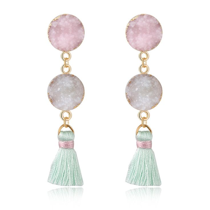Dayoff European Woman Jewelry Oval Tassels Earings For Women Handmade Bohemia Earing Long Drop Pending Earrings E745    // //  Price: $US $2.99 & FREE Shipping // //     Buy Now >>>https://www.mrtodaydeal.com/products/dayoff-european-woman-jewelry-oval-tassels-earings-for-women-handmade-bohemia-earing-long-drop-pending-earrings-e745/    #OnlineShopping