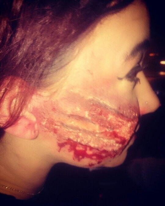 Slashed wound sfx