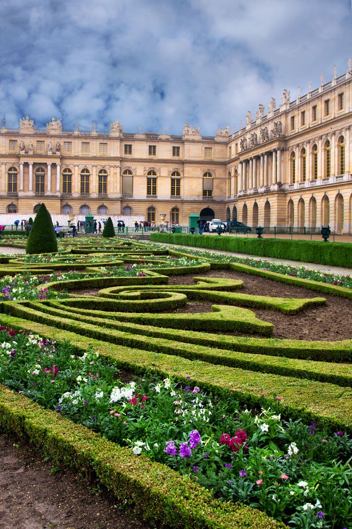 Palace de Versailles in Paris, France