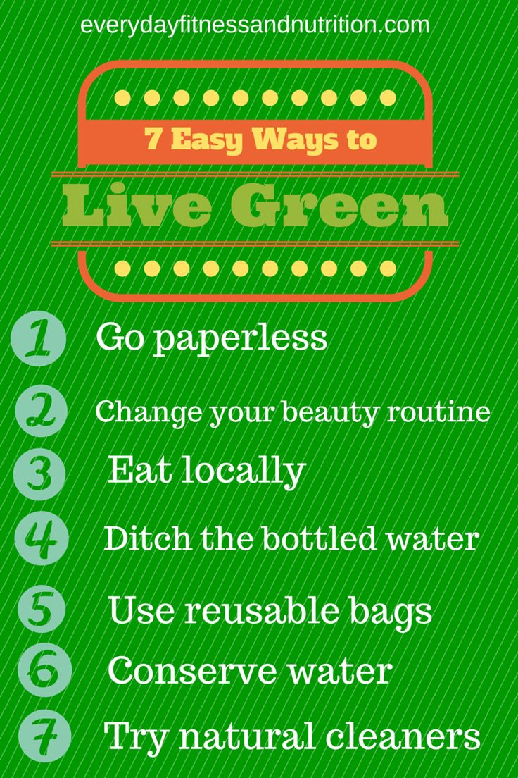 Learn More About These Easy Ways To Live Green And Help Us