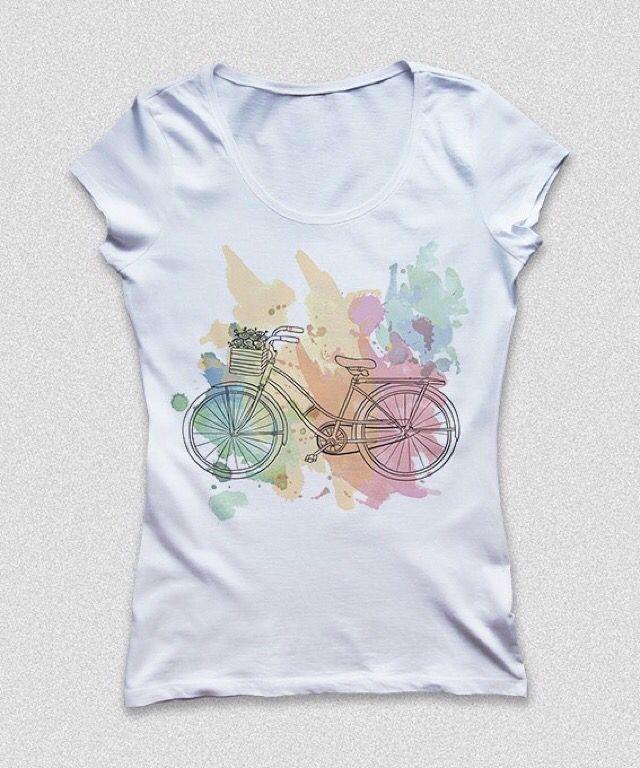 Cool bike T-shirt ❤️ shop IT on www.theitem.co