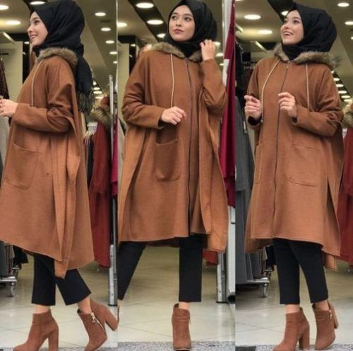 Cozy winter coats with hijab – Just Trendy Girls