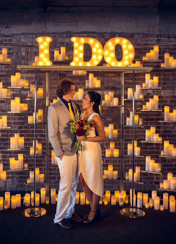 All Decor Aside Marquee Lights Can Make Fabulous Props Or Backdrops For Your Engagement