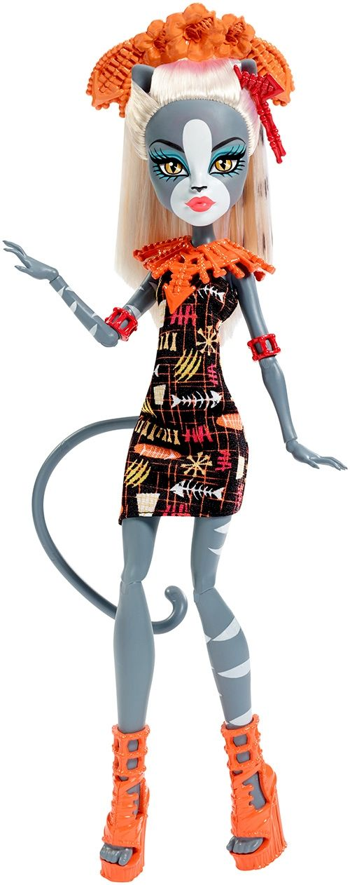 MONSTER HIGH® GHOULS' GETAWAY™ MEOWLODY® DOLL - Shop Monster High Doll Accessories, Playsets & Toys | Monster High