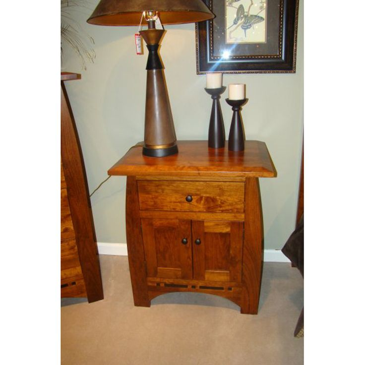 Cherry Nightstand 29-524 Scottsdale Bedroom Furniture Made in USA Outlet Discount Furniture Selections BEDROOMNIGHTSTAND Discount Furniture at Amish Oak and Cherry, Hickory, NC