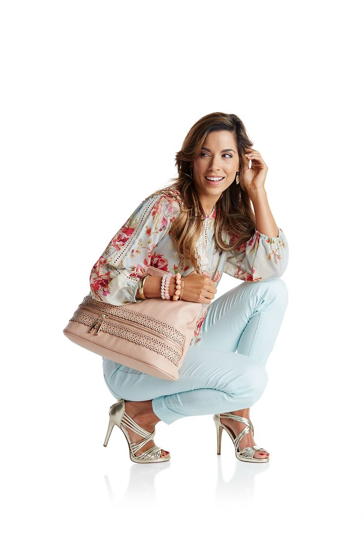 Pastel colors and floral print are spring staples!  #BurkesOutletDreamCloset