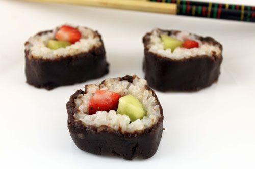 dessert sushi. how cute!