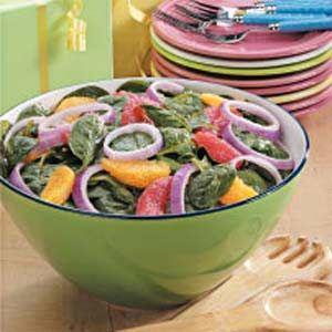Citrus Spinach Salad Recipe