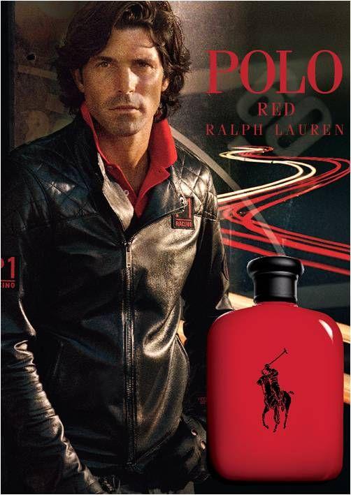 RALPH LAUREN POLO red perfume argentine NACHO FIGUERAS ...