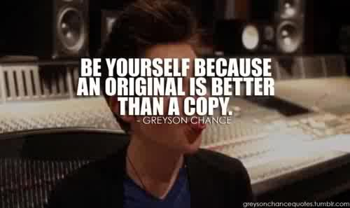 Greyson chance quote