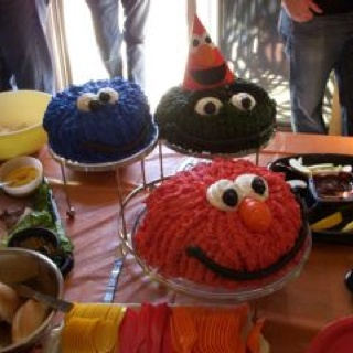 Kyra's second birthday cakes!