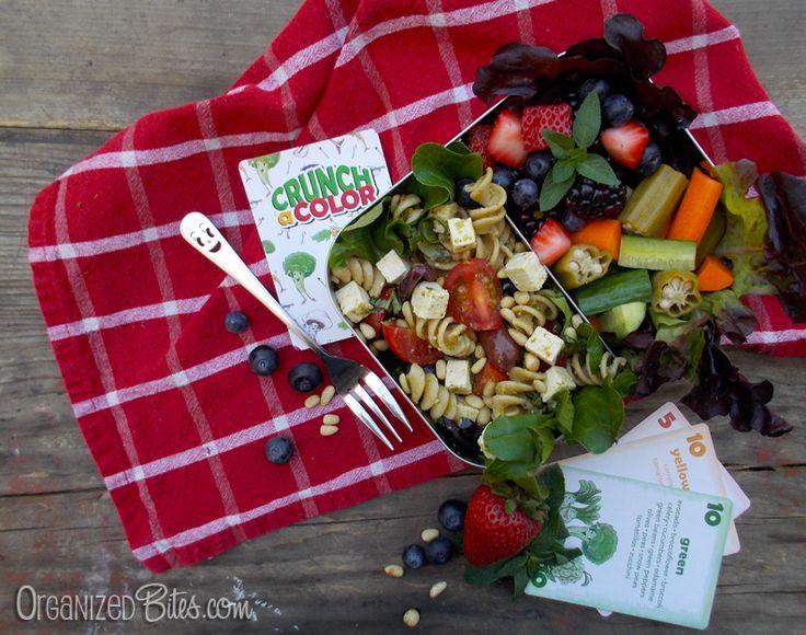 OrganizedBites.com | Crunch a Color Healthy Lunch Chalenge II @CrunchaColor
