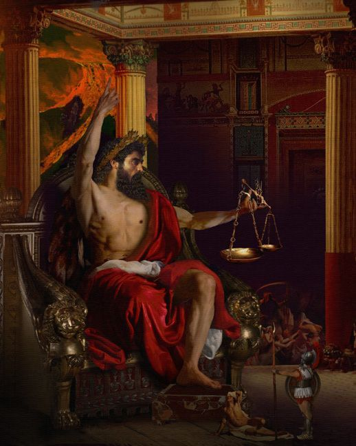 Картинка мачеха сказка о семи богатырях столом