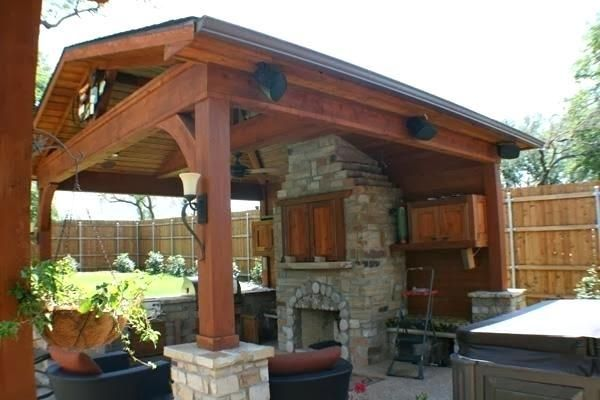 Gable Patio Cover Plans Covered Patio Cost Covered Outdoor Kitchens Outdoor Covered Patio