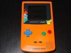 Console Game Boy Color Pokemon Center Orange 3rd Anniversary Complet - Import Japan