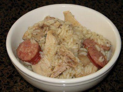 Chicken bog, the first Paula Deen recipe I ever made.
