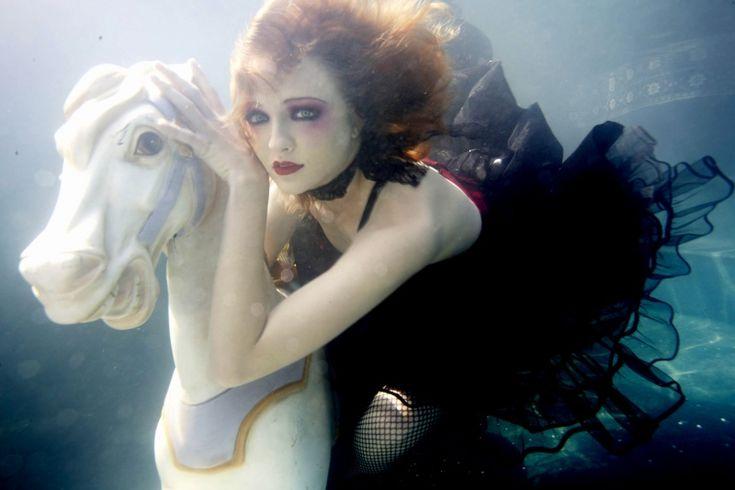 underwater goth flapper carousel