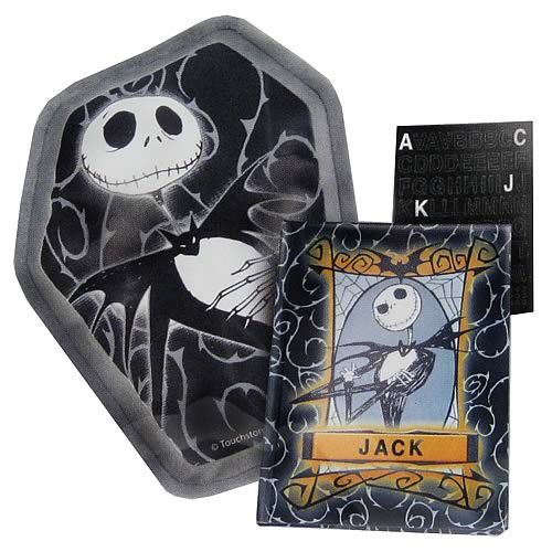 Nightmare Before Christmas Jack Skellington Journal & Pillow Gift Set