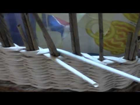 Meadow looking newspaper bag. Part 7. - YouTube