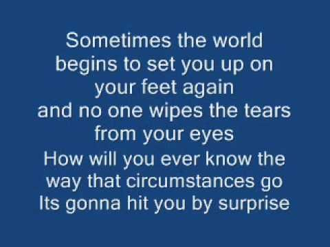 ▶ Blue Rodeo - Five Days In May LYRICS Video - YouTube