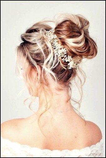 8+ Swept Back Hochzeitsfrisuren für Ihren Besonderen Brautlook #haare #haarschnitte #frisuren…