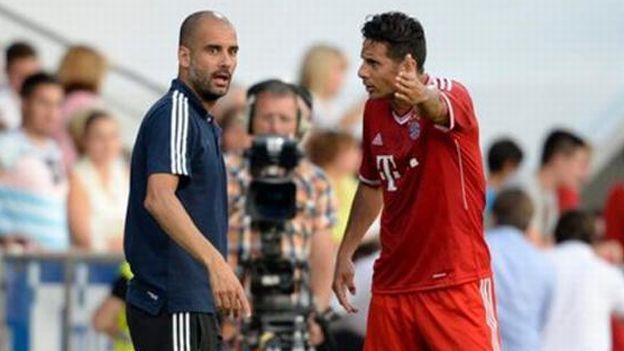 Claudio Pizarro: el consejero de Josep Guardiola en el Bayern Munich. #depor