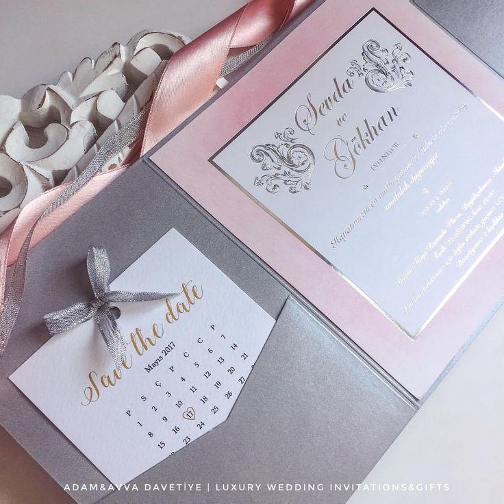 Düğün Davetiyesi - Save the Date