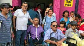 Impulsa Carol desarrollo de personas con discapacidad en Ixtepec