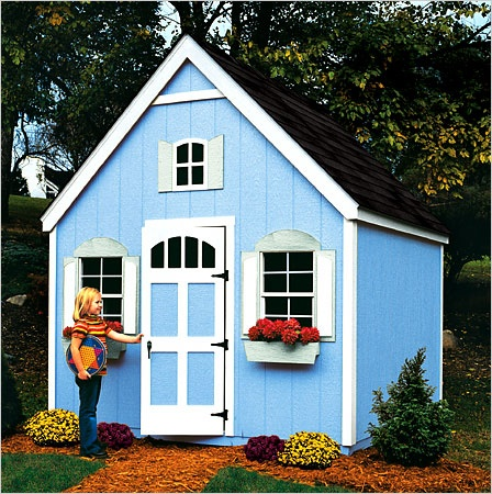 Best Playhouse Shed Images On Pinterest Architecture Diy
