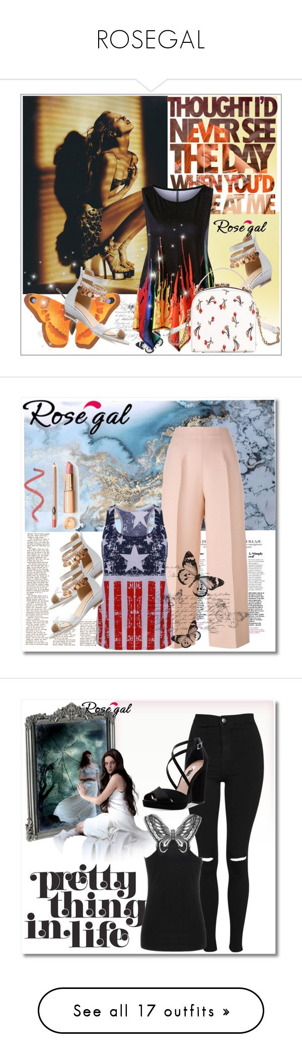 """ROSEGAL"" by selma3355 ❤ liked on Polyvore featuring Fendi, Topshop, Nina, Uniqlo, men's fashion, menswear, Prada, FRIDA, Beach Bunny and Lipstick Queen"
