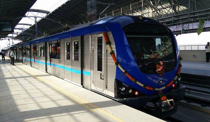 Chennai Metro: Chennai First Underground Metro Line Opens #RailAnalysis #Metro #News #Rail