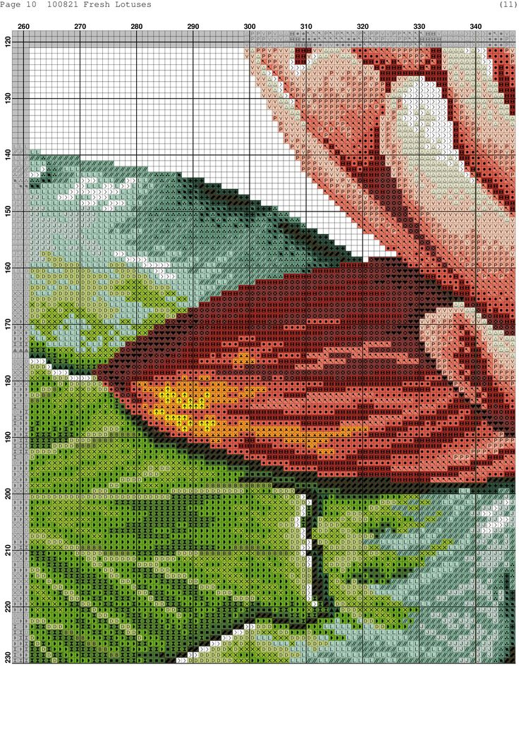 Cross-stitch patterns - Borduur patronen (11)