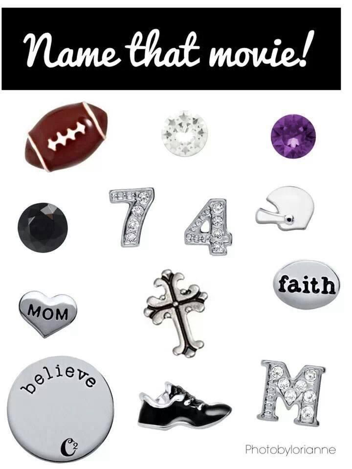 Origami Owl Name That Movie! game. Answer: The Blind Side http://www.facebook.com/tiffanyscharm