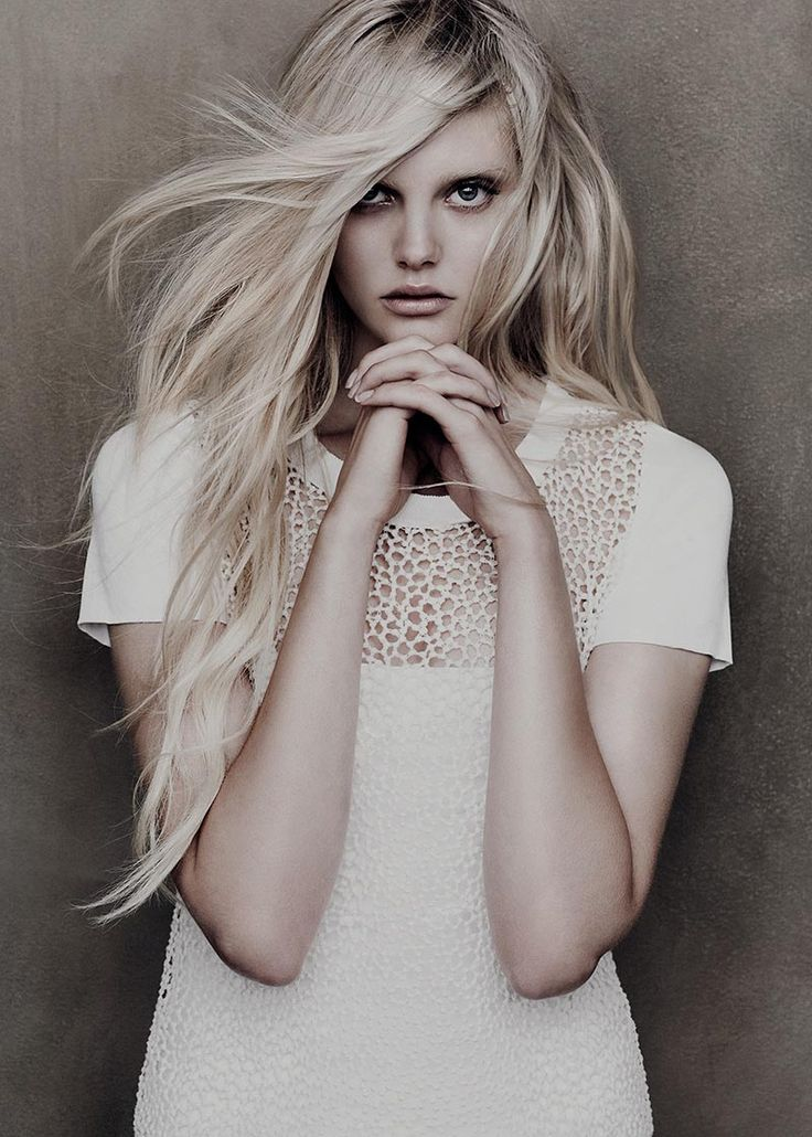 Dani Seitz for Lida Baday Spring 2012 Campaign by Chris Nicholls: Dani Seitz, Blondes Hair, Lace Tops, Color, Hairmakeup, Long Hair, Lida Baday, Dresses, Hair Makeup