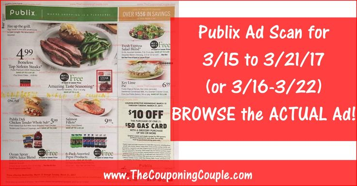 Anybody want to BROWSE the actual Publix Ad Scan? Here is the PUBLIX AD SCAN FOR 3-15 to 3-21-17 (3/16-3/22) ~ ALL 16 PAGES Click the Picture below to BROWSE the Publix Ad Scan ► http://www.thecouponingcouple.com/publix-ad-scan-for-3-15-to-3-21-17/  SHARING this POST Really Helps make it possible for us to continue to bring you these GREAT EARLY Ad Scans!  #Coupons #Couponing #CouponCommunity  Visit us at http://www.thecouponingcouple.com for more great posts!