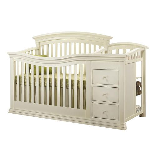 "Sorelle Verona Crib and Changer - French White - C International - Babies ""R"" Us"