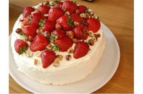 Strawberries and Recipe on Pinterest