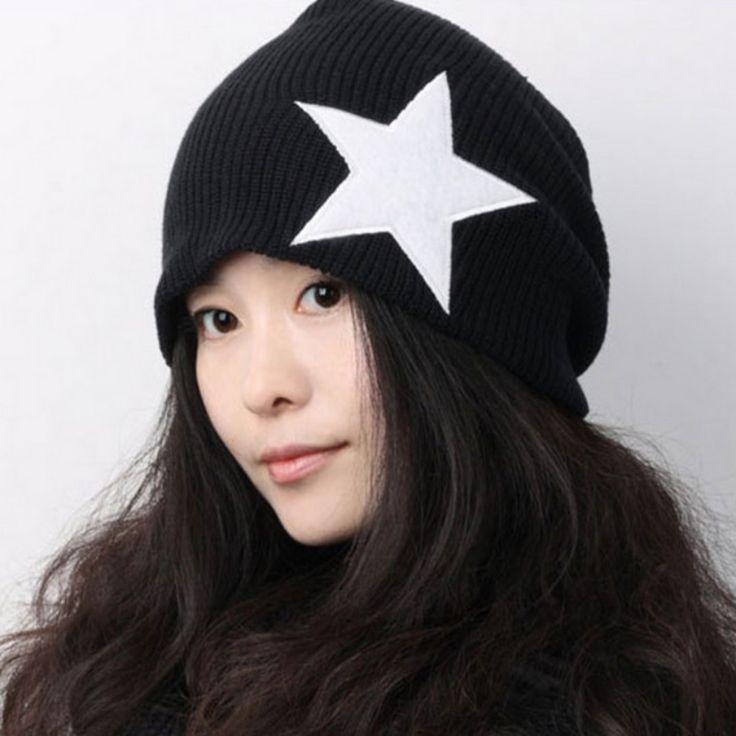 1.52$  Watch here - http://alic9d.shopchina.info/go.php?t=32584964916 - Unisex Women Men Knit Baggy Winter Warm Oversized Ski Cap Multicolor Beanie Hat 1.52$ #buymethat
