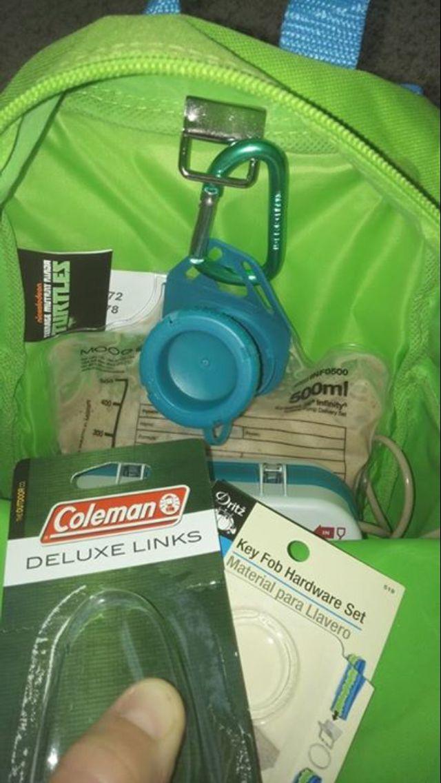 DIY Backpack with Feeding Tube