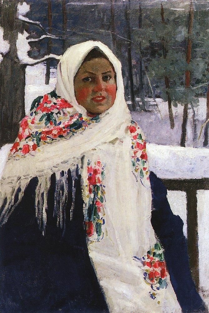 Russian Post-Impressionist Painter Igor Grabar