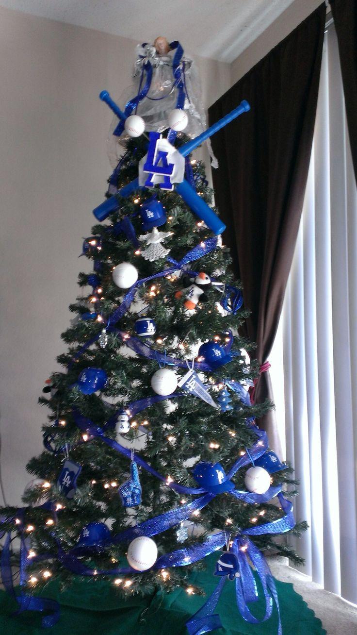 LA Dodgers Christmas tree!!