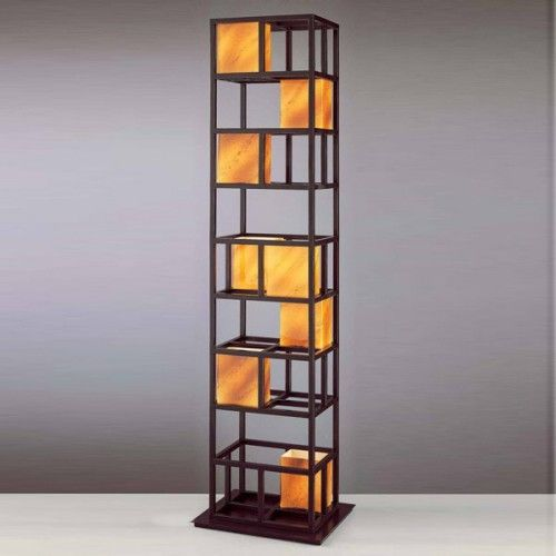 Contemporary Floor Lamps With Shelves