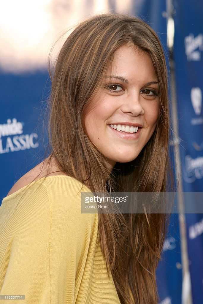 Lindsey Shaw during Gibson and Baldwin Host 2006 'Night at the Net' - Red Carpet at Los Angeles Tennis Center in Los Angeles, California, United States.