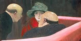 Felix Vallotton; La chaste Suzanne. 1922