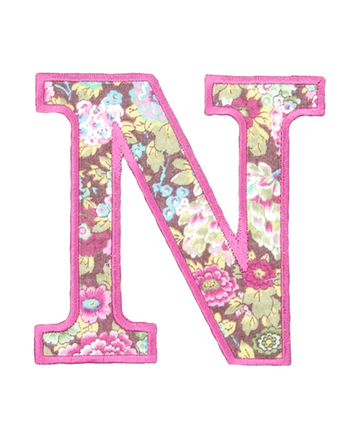Letter N Pink | www.imgkid.com - The Image Kid Has It!