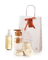 Presente Natura Tododia Macadâmia - Desodorante Hidratante Corporal +  Desodorante Colônia Spray Corporal + Sabonetes em Barra + Embalagem